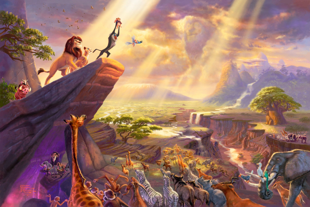 The Lion King Movie Background