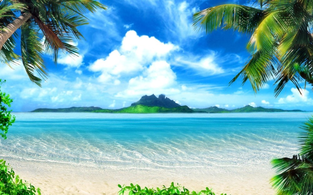 HD Summer Beach Wallpaper