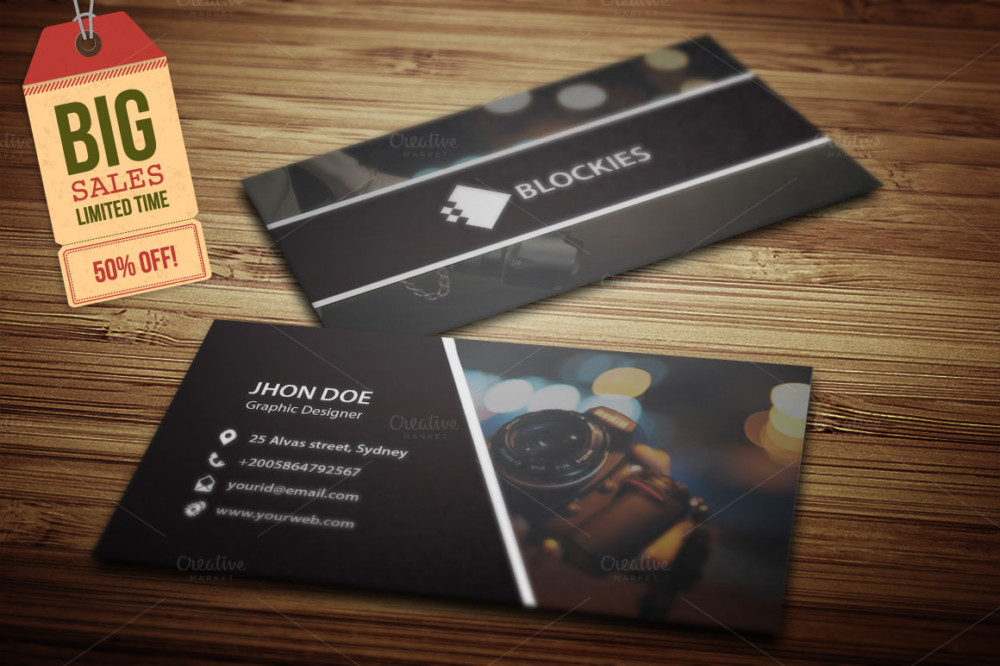 Coolest Photography Business Cards Choice Image - Card Design And ...