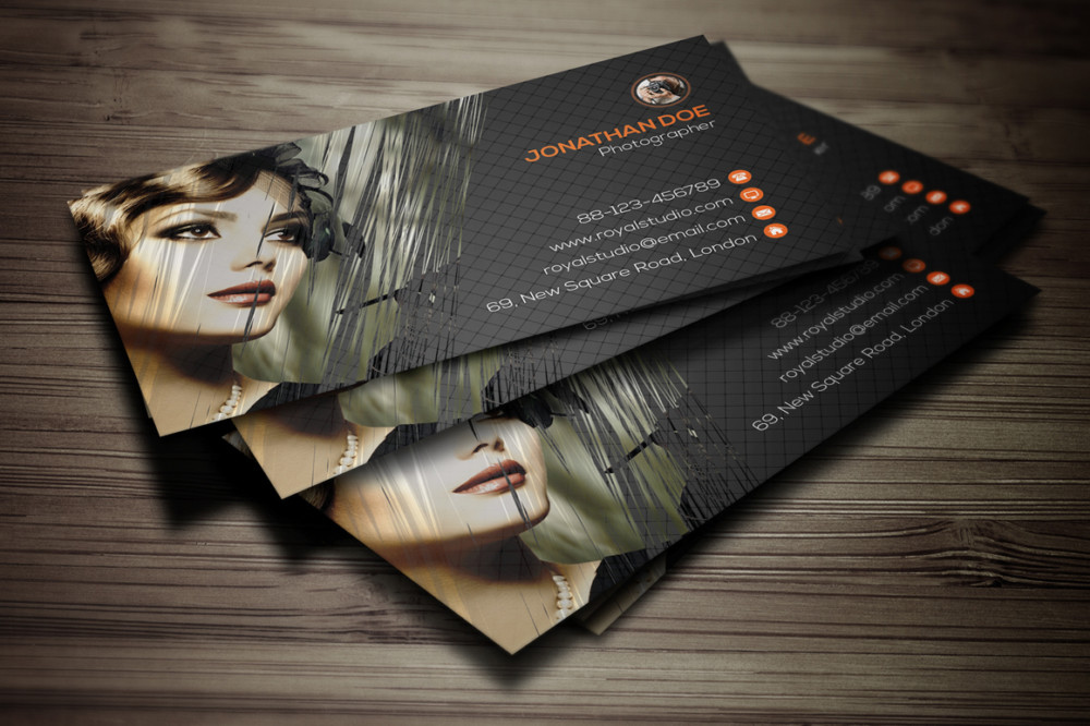 Creative photography business cards militaryalicious creative photography business cards reheart Images
