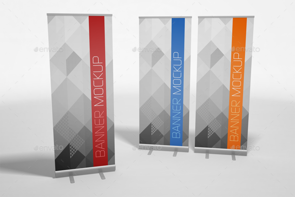 Creative Banner Mockup Template