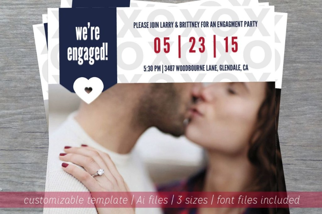 engagement-announcement-party-template