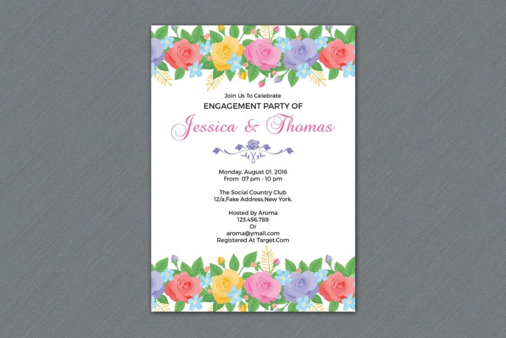 floral-engagement-invitation-template-word