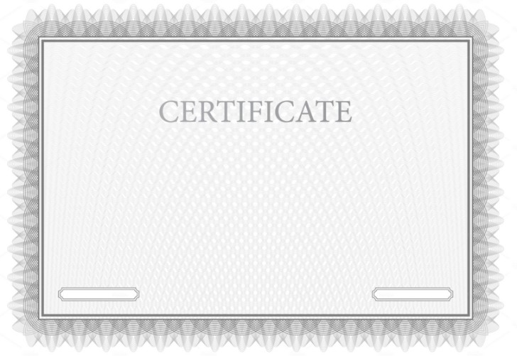 Indesign Certificate Templates
