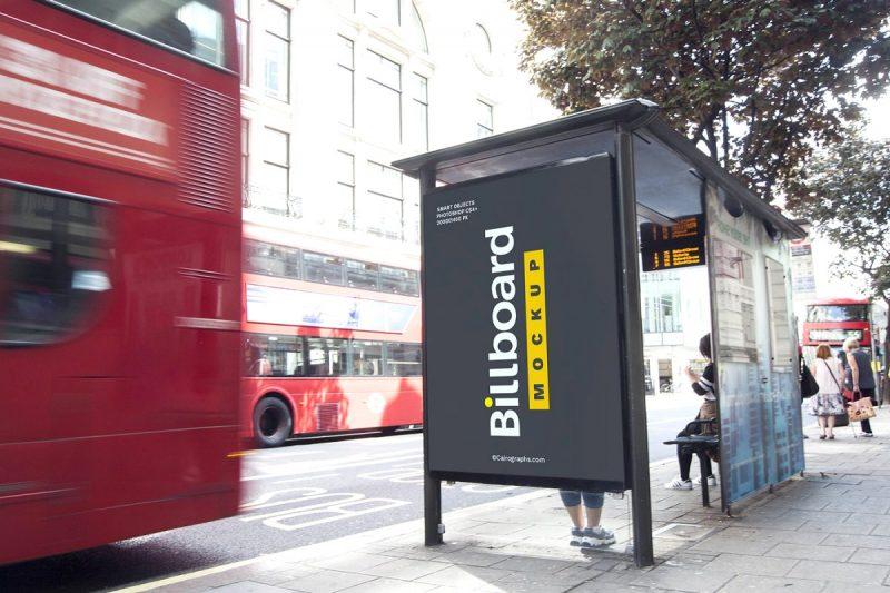 10 High Resolution Billboard Mockups