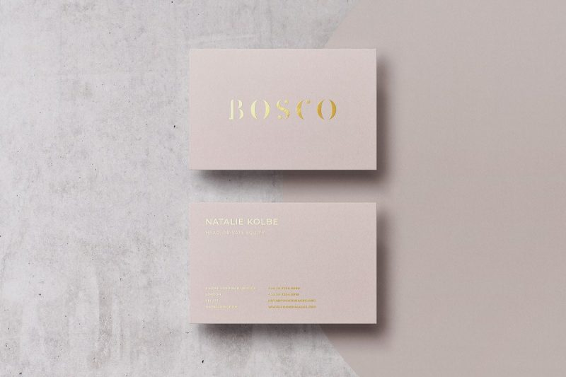 Ai and PSD Business Card Template
