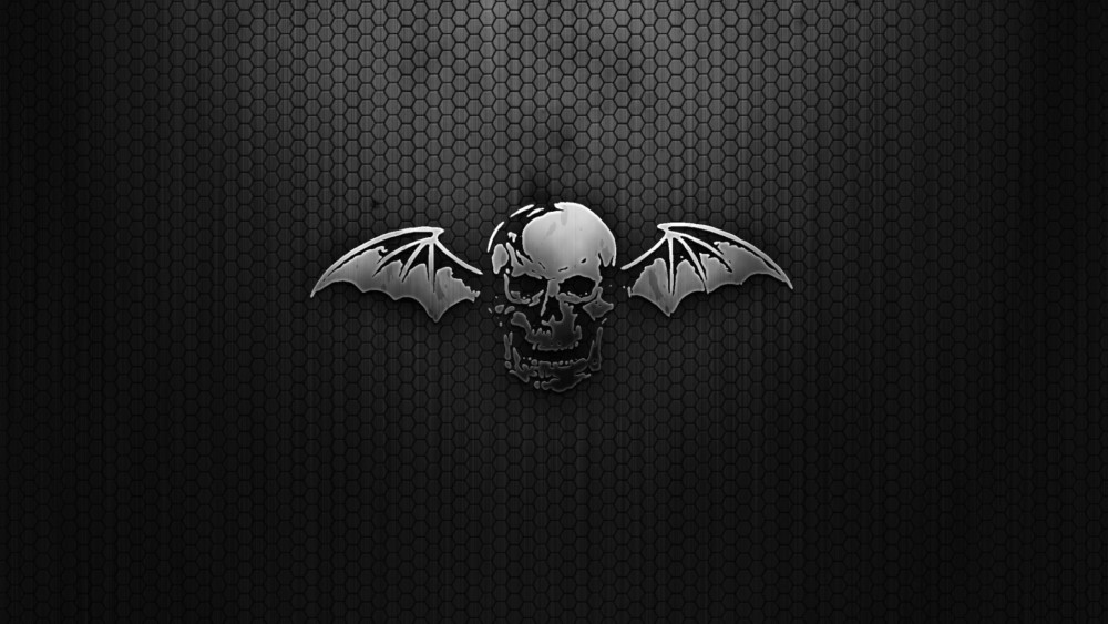 Black Skull Wallpaper