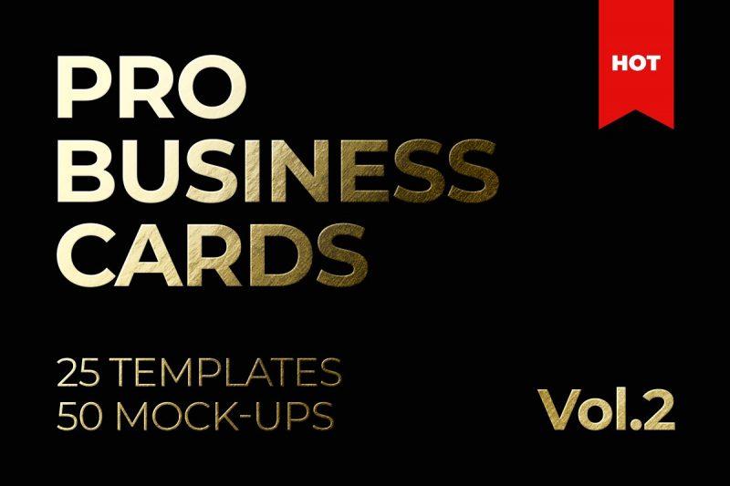 Pro Business Card Template PSD
