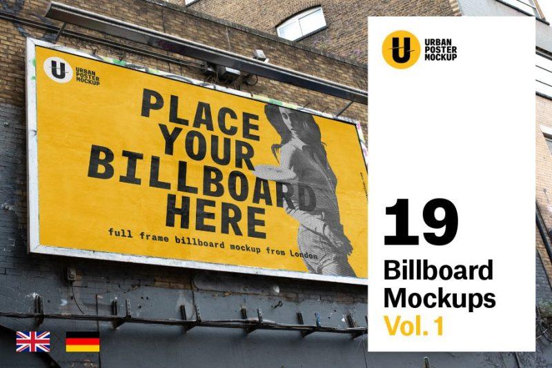 Urban Billboard Poster Mockup