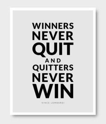 amazing posters inspirational-quotes never quit quotes
