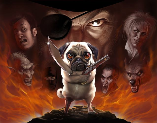 digital-art-loopy-bulldog-amazing-digital-painting
