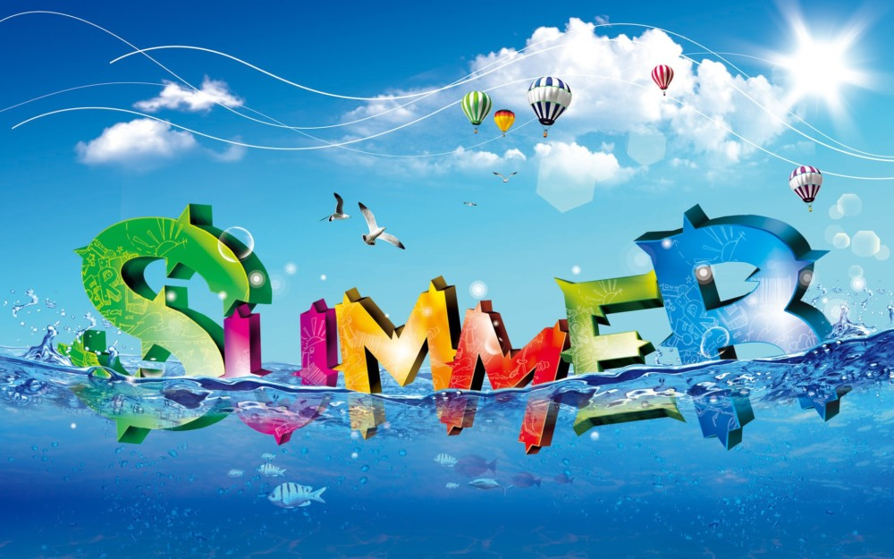 Artistic Summer Wallpaper