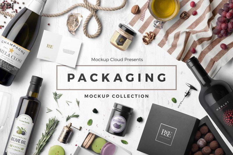 Best Packaging Mockup PSD Collection