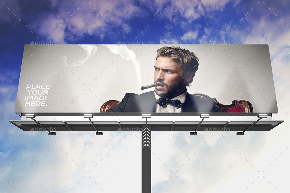 Billboard Advertisement Mockup