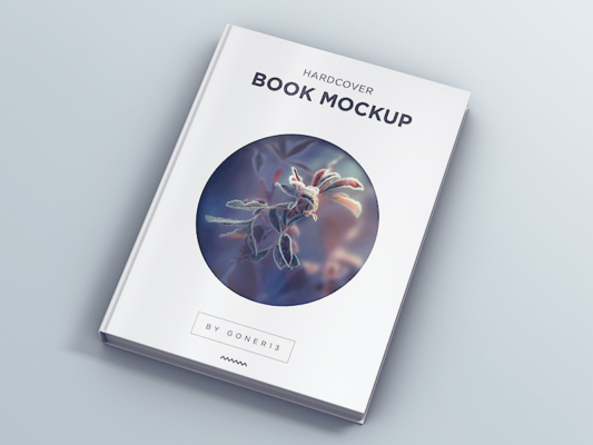 Book Cover Mockup for Designers