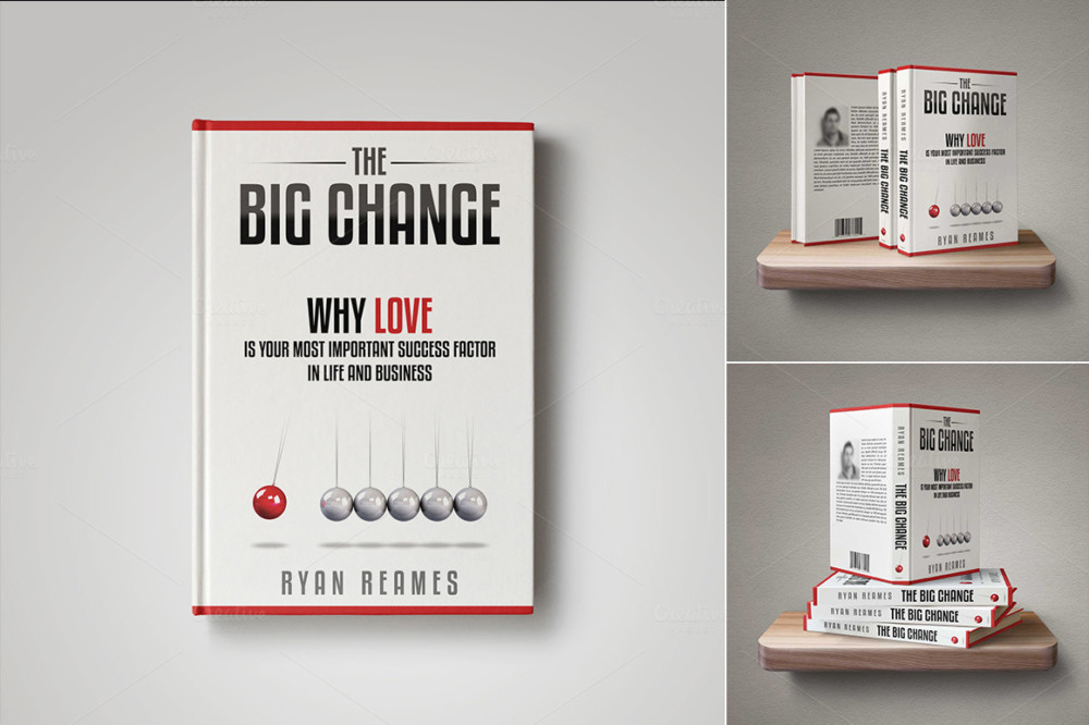 Book Cover PSD Mockup