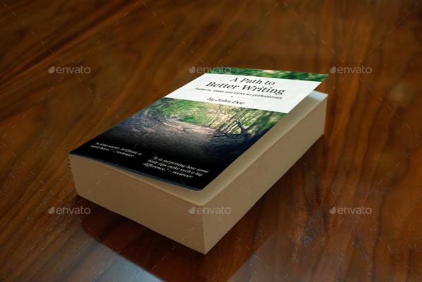 Book Cover Presentation Maockup