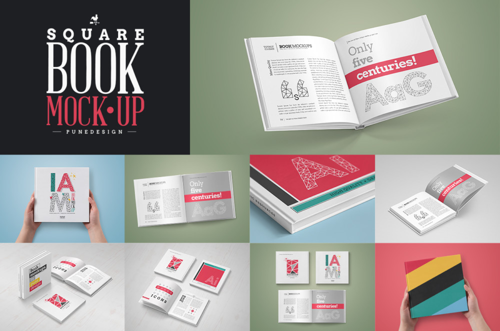Book Mockup Bundle