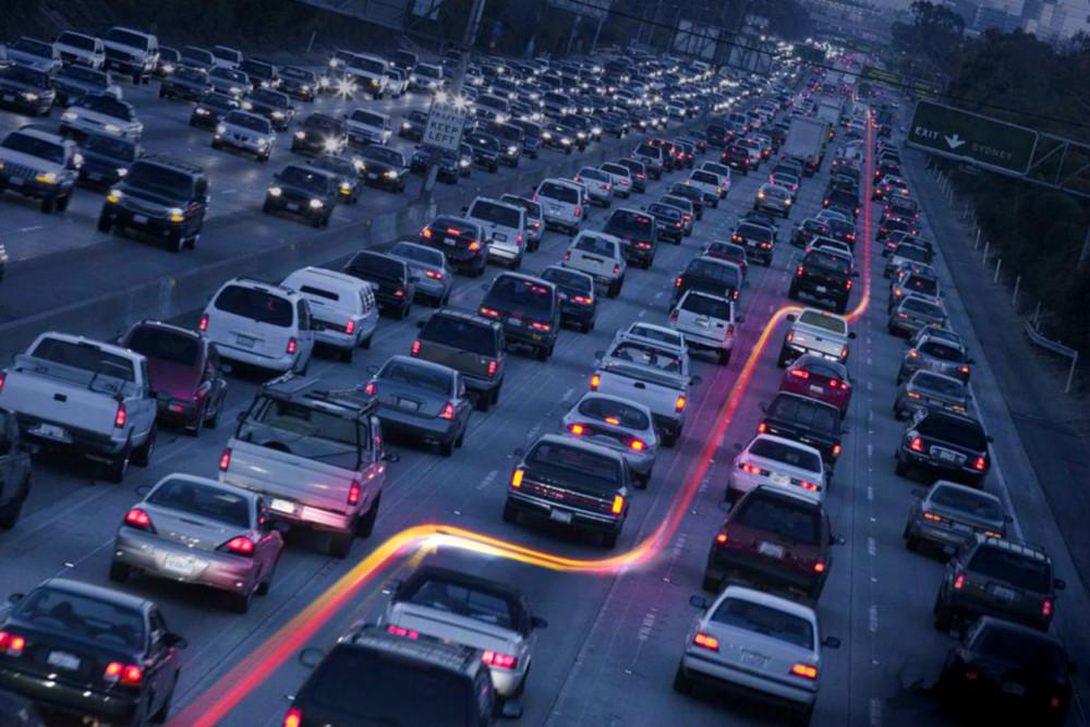 Car Traffic Background