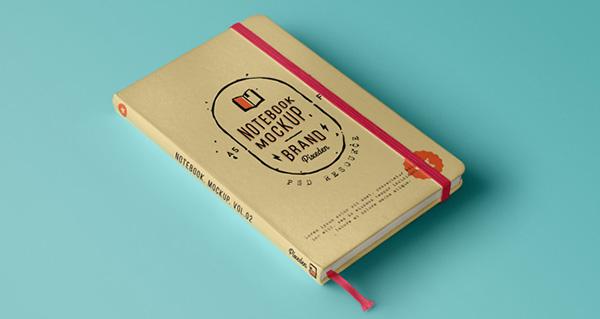 Classic Note Book Mockup