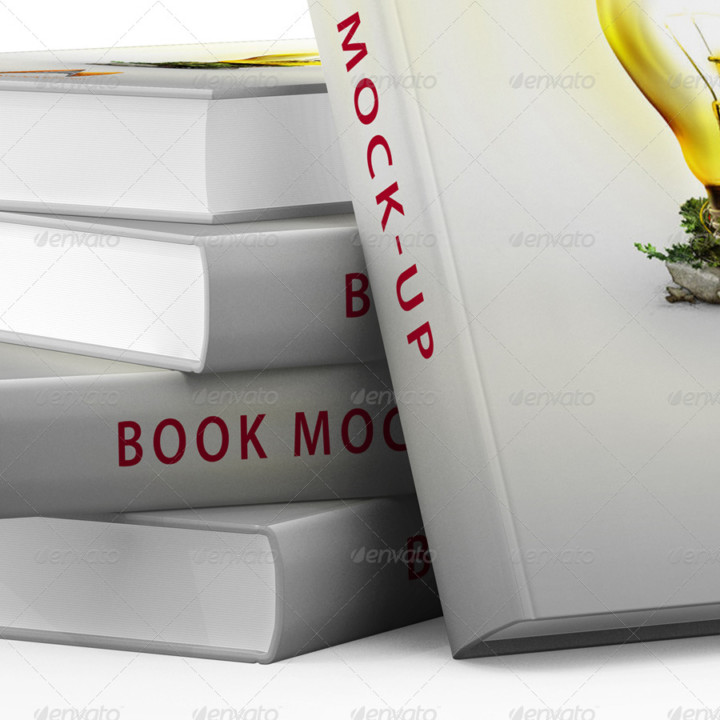 Customisable Book Mockup