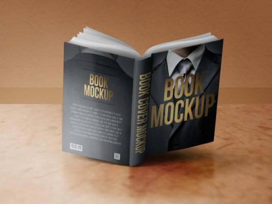Downloadable PSD Book Mockup