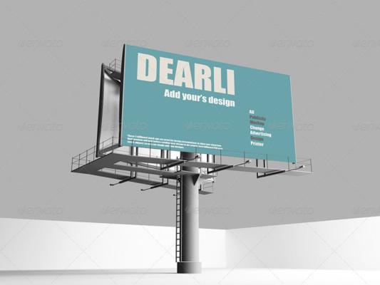 Elegant Billboard Mockup