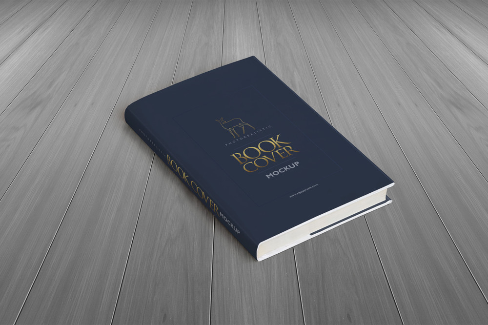 Elegant Book Cover Mockup