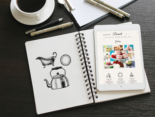 Free Notebook Mockup Template