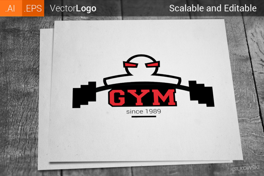 Gym logos best gym logo fitness emblem symbol gym vector barbell muscle set stamp