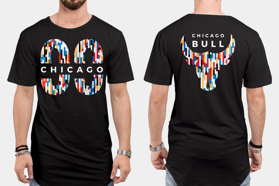 High Resolution T Shirt Branding Mockup