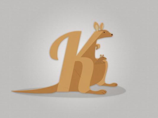 Kangaroo Logo Brand