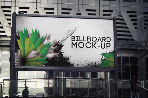 Mockup Billboard Template