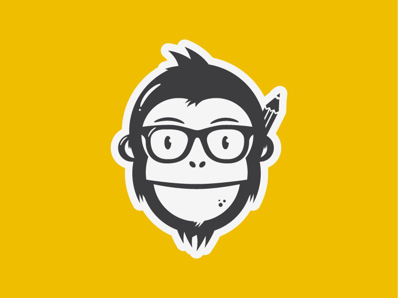 25 amusing monkey logo designs ideas inspiration