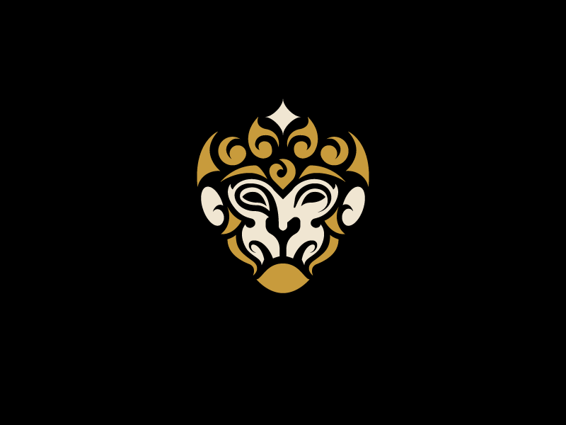 Monkey Logo Vector