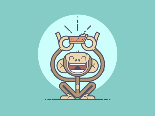 Monkey Pie Logo Design
