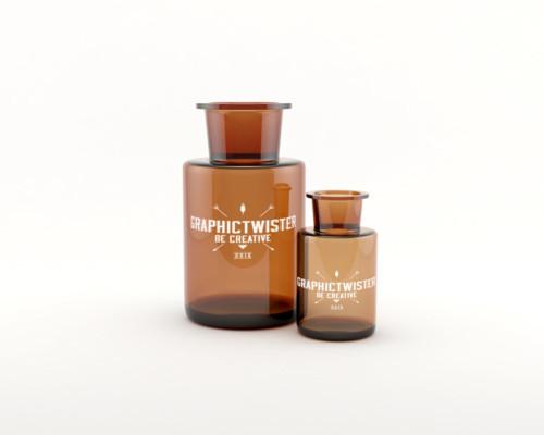 Premium Bottle Mockup