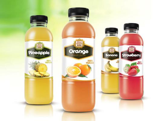Premium Juice Bottle Mockup