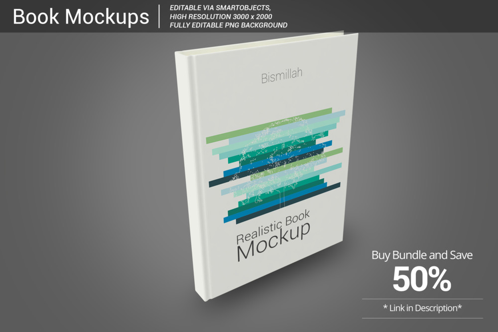 Realistic Book Mockup