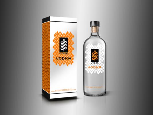 Vodka Bottle Mockup, Bottle Mockup