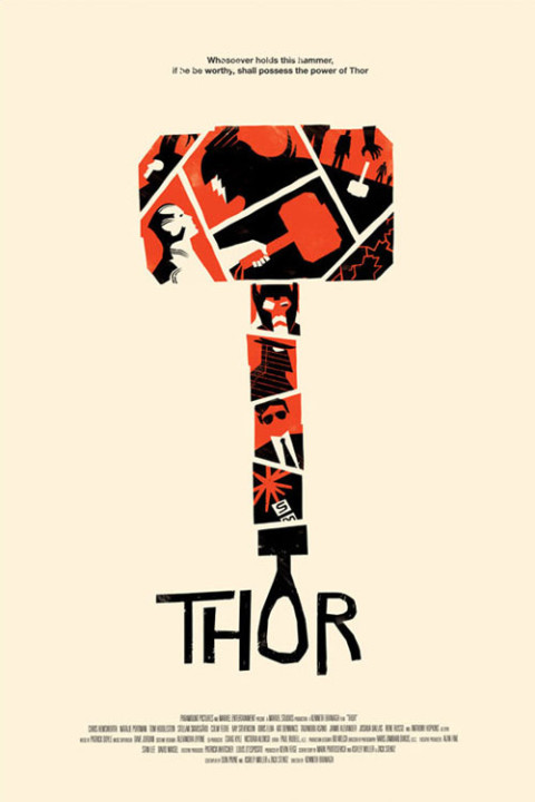 alternative-movie-posters-thor best movie poster thor