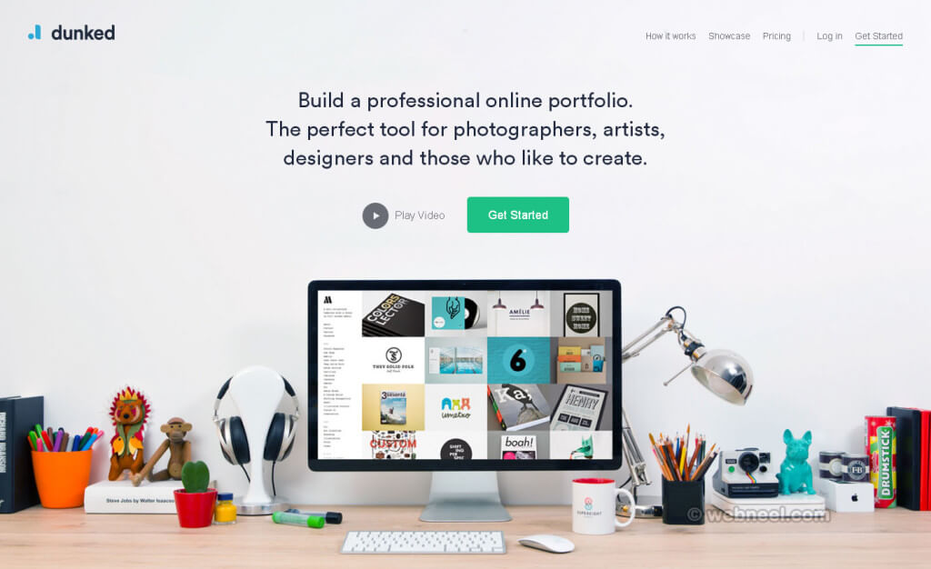 beautiful-website-design-dunked-free-portfolio website graphics design company