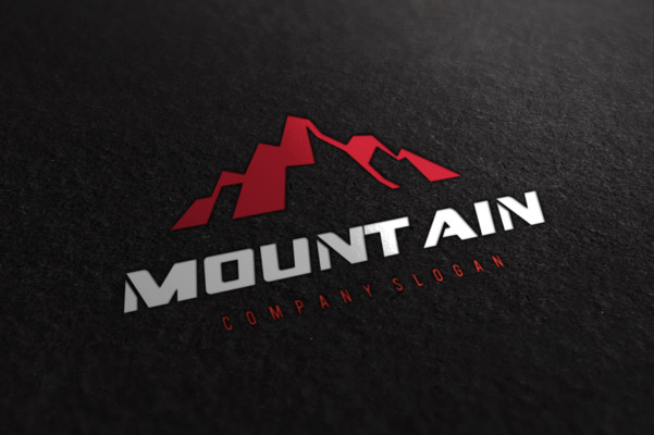 mountain, mountain logo, nature, organic, outdoor, sport, star, symbol, tourism