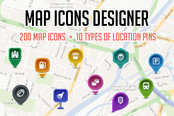 icons,	map,	google,	psd,	png,	location, market,	pin,	poi,	tourism,	sports, restaurant,	hotels,	transportation, designer
