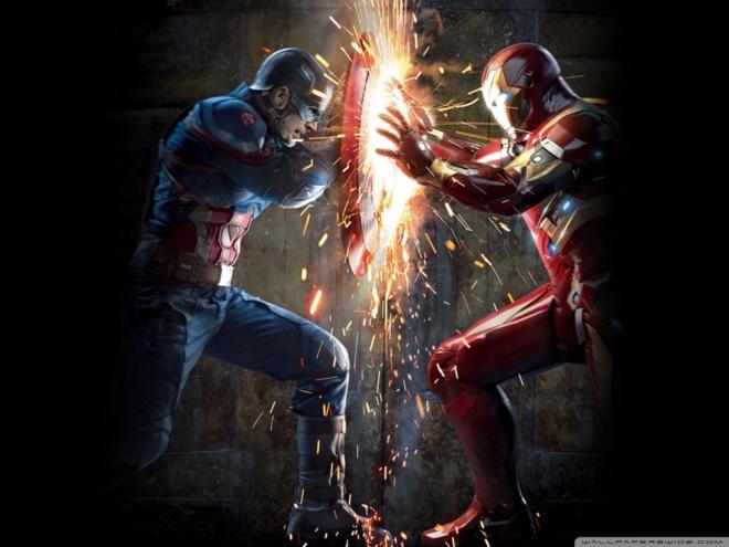 caption america iron man avengers bird man ant-man civil war wallpapers