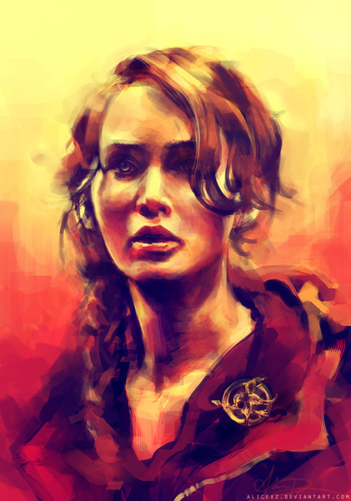 colorful-digital-painting-by-alicezhang hunger games wallpaper 1