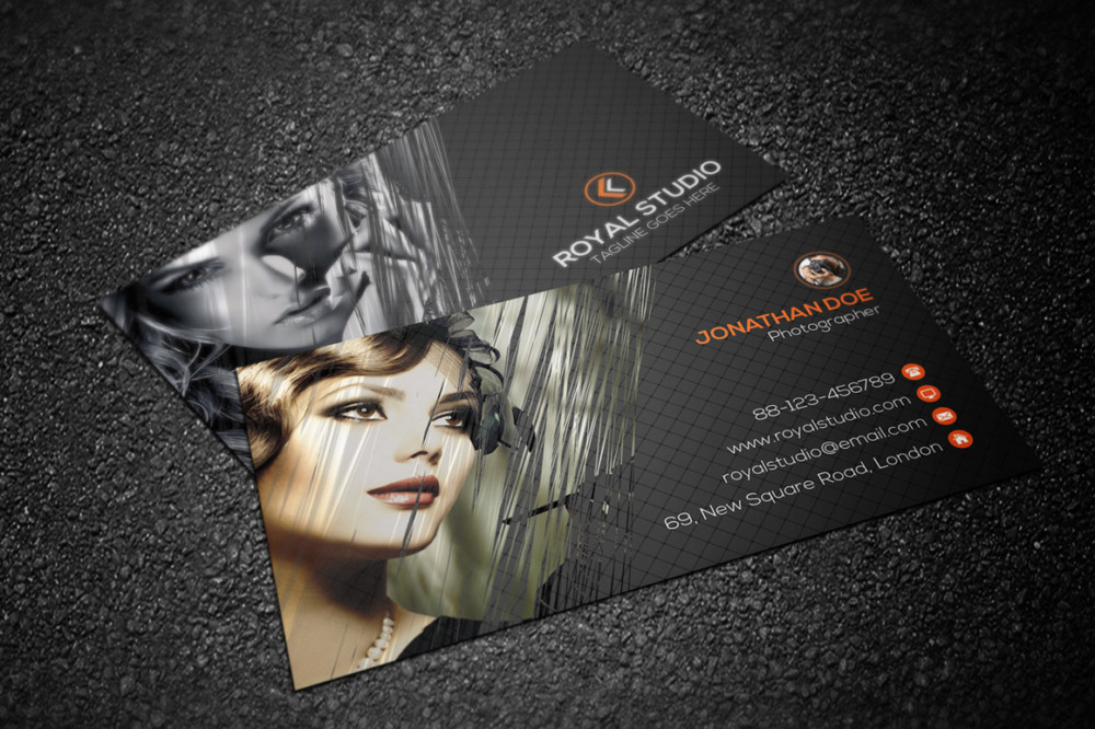 photography, photographer, camera, fashion, fashion business card, photo studio, photographer business card, model, girl