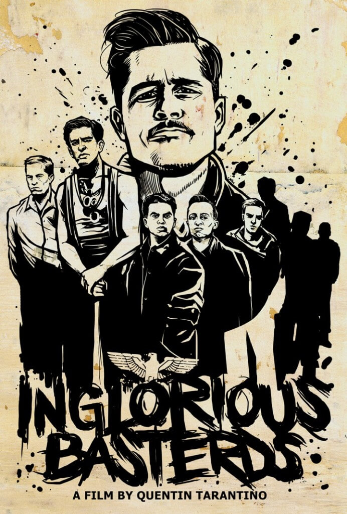 inglourious_basterds_lost_art_movie_poster_munk_one best movie posters