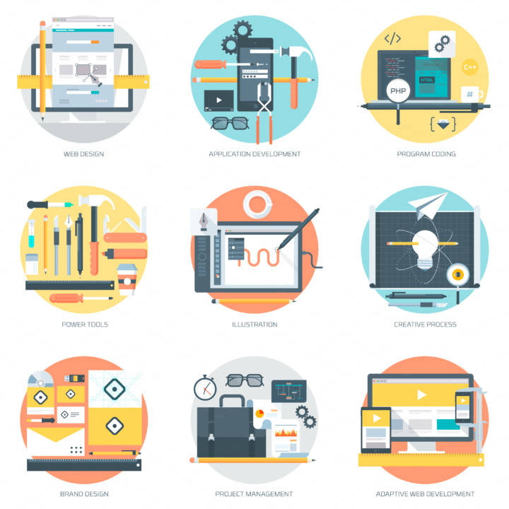 business finance shopping commerce, technology internet network online hardware design developmen web websit seo marketing digital icon management ecommerce office