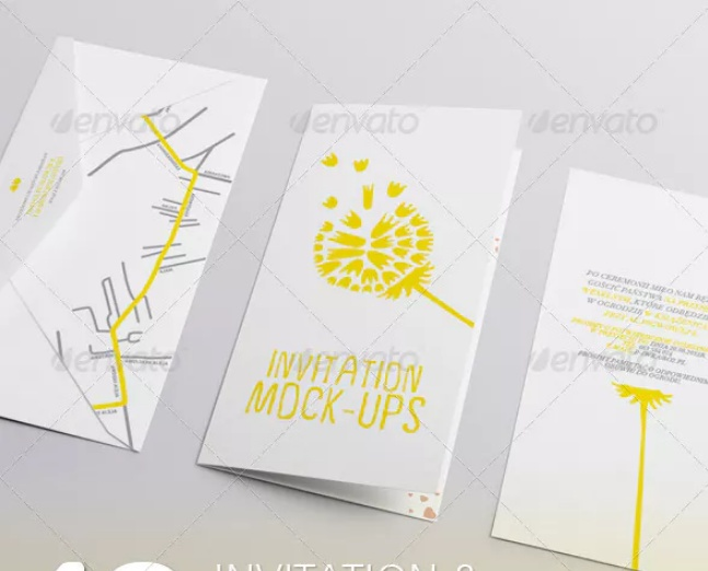 10 Greeting Card PSD Mockups